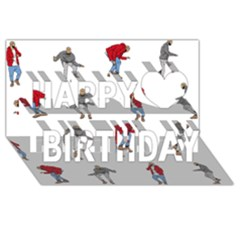 Drake Ugly Holiday Christmas Happy Birthday 3D Greeting Card (8x4)