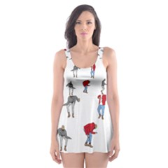 Drake Ugly Holiday Christmas Skater Dress Swimsuit