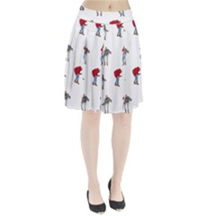 Drake Ugly Holiday Christmas Pleated Skirt