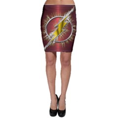 Flash Flashy Logo Bodycon Skirt