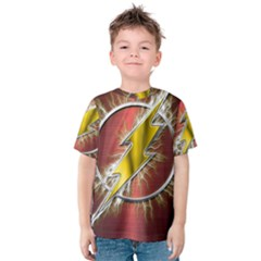 Flash Flashy Logo Kids  Cotton Tee