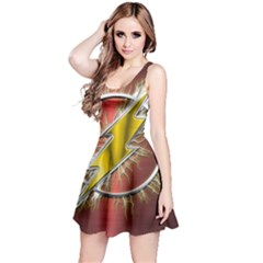 Flash Flashy Logo Reversible Sleeveless Dress
