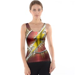Flash Flashy Logo Tank Top