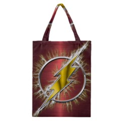 Flash Flashy Logo Classic Tote Bag