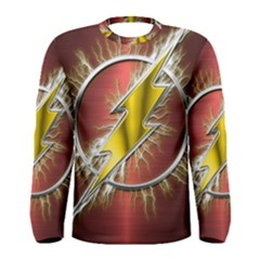 Flash Flashy Logo Men s Long Sleeve Tee