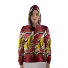 Flash Flashy Logo Hooded Wind Breaker (Women)