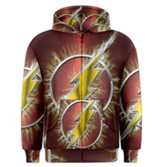 Flash Flashy Logo Men s Zipper Hoodie