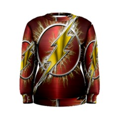 Flash Flashy Logo Women s Sweatshirt