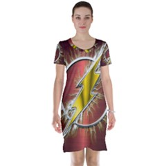 Flash Flashy Logo Short Sleeve Nightdress