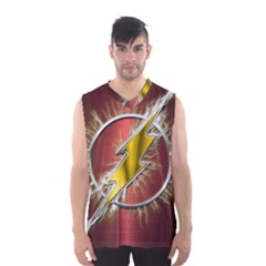 Flash Flashy Logo Men s Basketball Tank Top