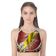 Flash Flashy Logo Tank Bikini Top