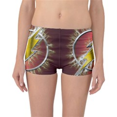 Flash Flashy Logo Reversible Boyleg Bikini Bottoms
