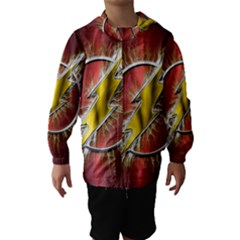 Flash Flashy Logo Hooded Wind Breaker (Kids)