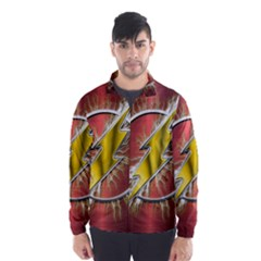 Flash Flashy Logo Wind Breaker (men)