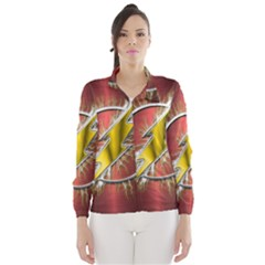 Flash Flashy Logo Wind Breaker (Women)