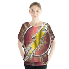 Flash Flashy Logo Blouse