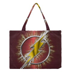 Flash Flashy Logo Medium Tote Bag