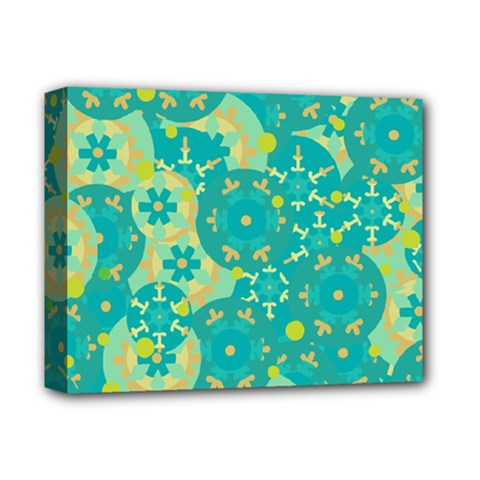 Cyan design Deluxe Canvas 14  x 11