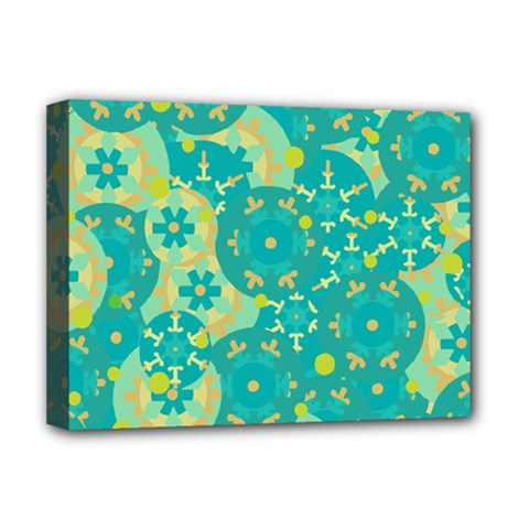 Cyan design Deluxe Canvas 16  x 12