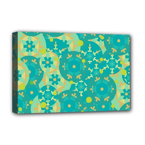 Cyan design Deluxe Canvas 18  x 12