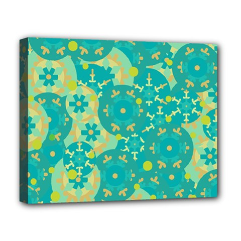 Cyan design Deluxe Canvas 20  x 16