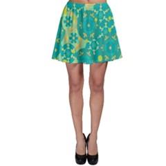 Cyan design Skater Skirt