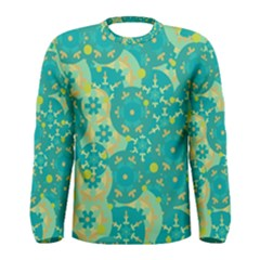 Cyan design Men s Long Sleeve Tee