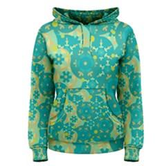 Cyan design Women s Pullover Hoodie