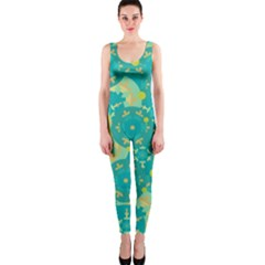 Cyan design OnePiece Catsuit