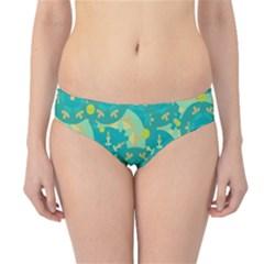Cyan design Hipster Bikini Bottoms