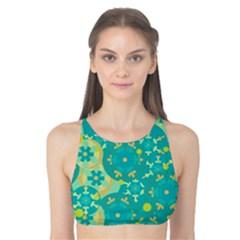 Cyan design Tank Bikini Top