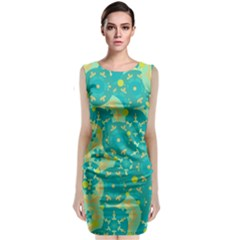 Cyan design Classic Sleeveless Midi Dress