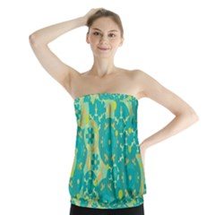 Cyan design Strapless Top