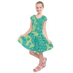 Cyan design Kids  Short Sleeve Dress