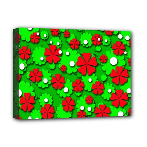 Xmas flowers Deluxe Canvas 16  x 12