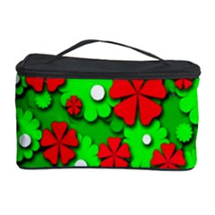 Xmas flowers Cosmetic Storage Case