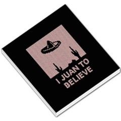 I Juan To Believe Ugly Holiday Christmas Black Background Small Memo Pads