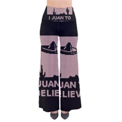 I Juan To Believe Ugly Holiday Christmas Black Background Pants