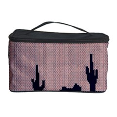 I Juan To Believe Ugly Holiday Christmas Blue Background Cosmetic Storage Case