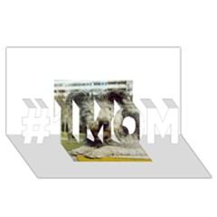 Pumi #1 MOM 3D Greeting Cards (8x4)