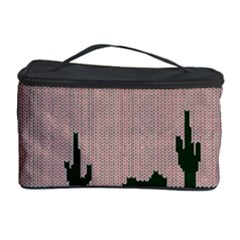 I Juan To Believe Ugly Holiday Christmas Green background Cosmetic Storage Case