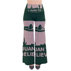 I Juan To Believe Ugly Holiday Christmas Green background Pants