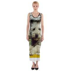 Pumi Fitted Maxi Dress