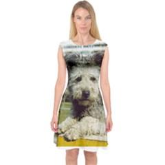 Pumi Capsleeve Midi Dress