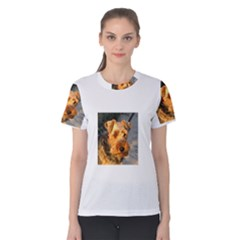 Welch Terrier Women s Cotton Tee