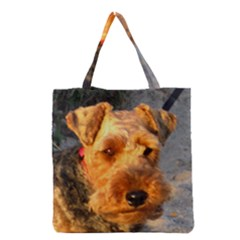 Welch Terrier Grocery Tote Bag