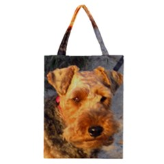 Welch Terrier Classic Tote Bag