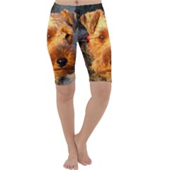 Welch Terrier Cropped Leggings