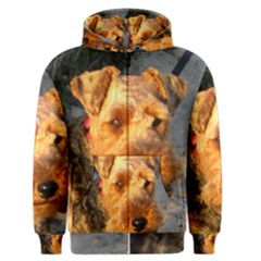 Welch Terrier Men s Zipper Hoodie