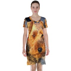 Welch Terrier Short Sleeve Nightdress
